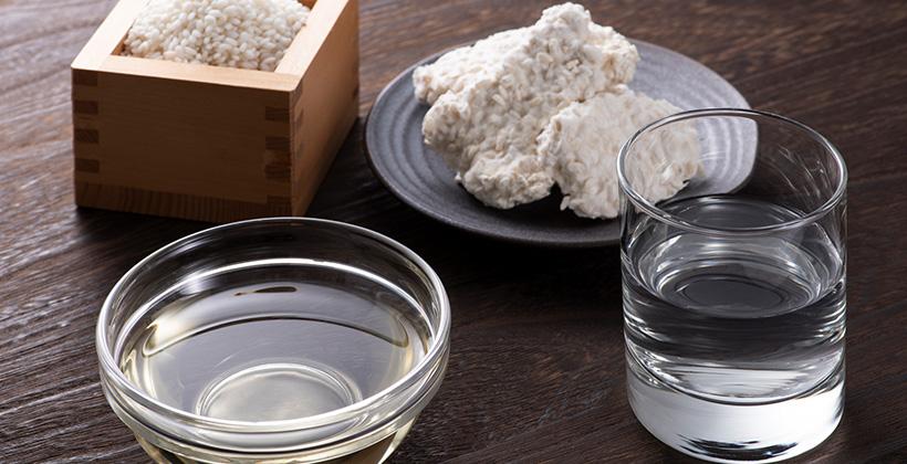 日本酒と麹