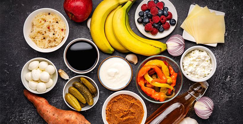乳酸菌を含む食品