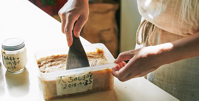 山田奈美さん手作りの白味噌