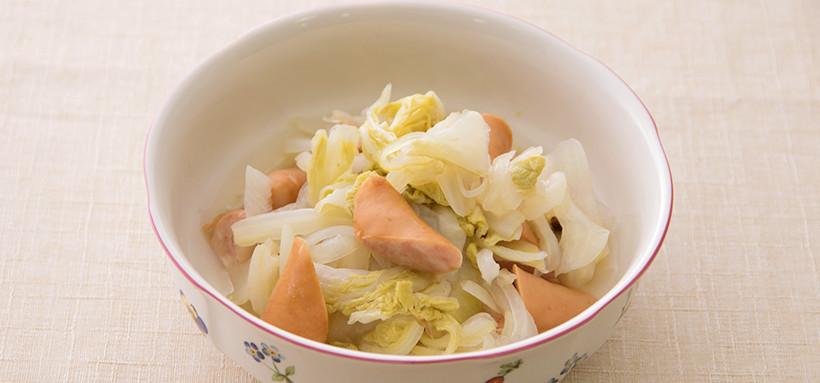白菜のザワークラウト風