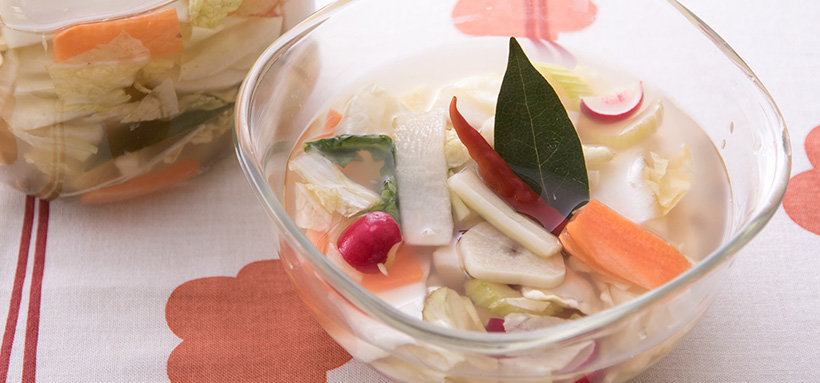 四川式ピクルス泡菜(パォツァイ)