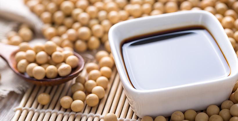 大豆と醤油